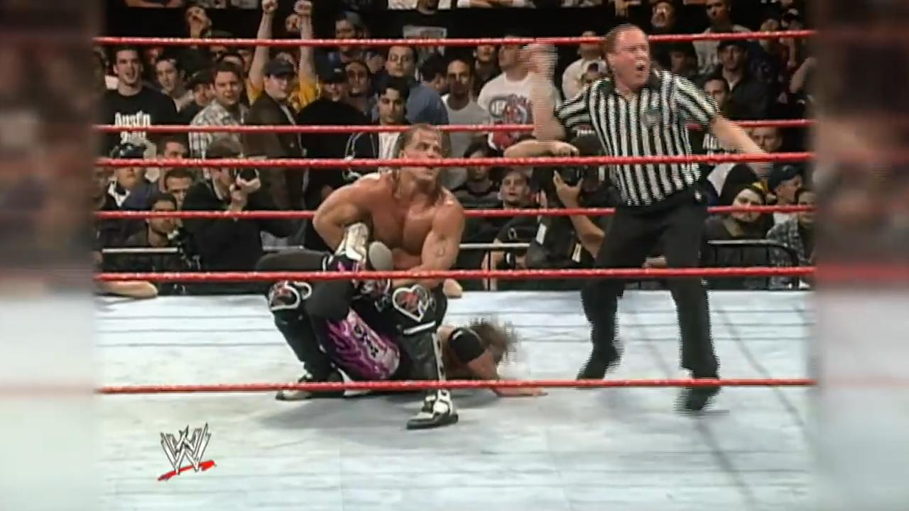 WWE's infamous 'Montreal Screwjob'