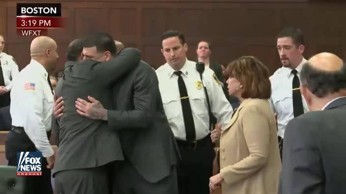Aaron Hernandez acquitted of double-murder by jury