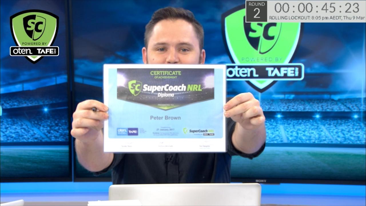Earn your SuperCoach NRL Diploma