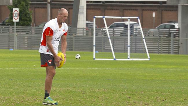 Plugger returns to the Swans
