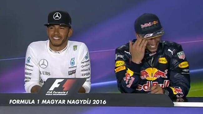 Hamilton leaves Ricciardo red-faced