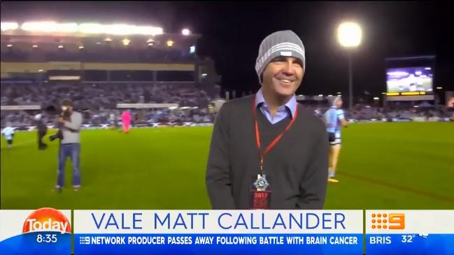 Matt Callander loses battle with brain cancer