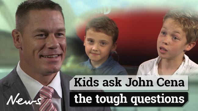 Kids ask John Cena the tough questions