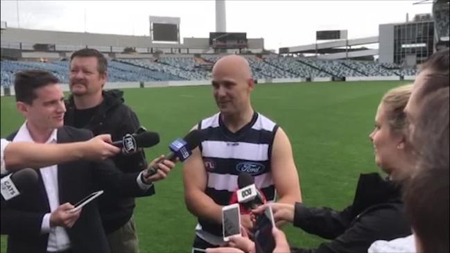 Ablett to wear No. 4 at Cats
