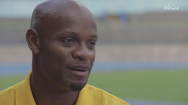 Asafa Powell speaks ahead of the 2018 Commonwealth Games