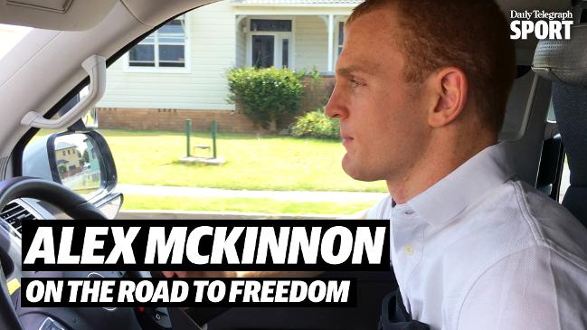 Alex McKinnon amazingly drives modified vehicle