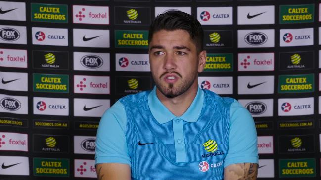 Dimitri Petratos shares his first experience with Socceroo's squad