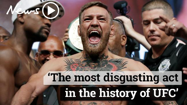 Conor McGregor attacks rivals in a crazy rampage
