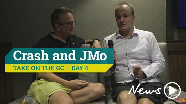 Crash and JMo take on the GC - Day 4
