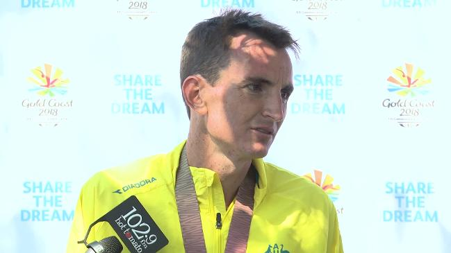 Shelley wins Comm Games gold in dramatic men's marathon