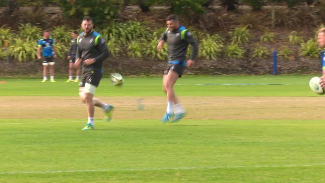 Irish rugby team brush-off bruising loss at training