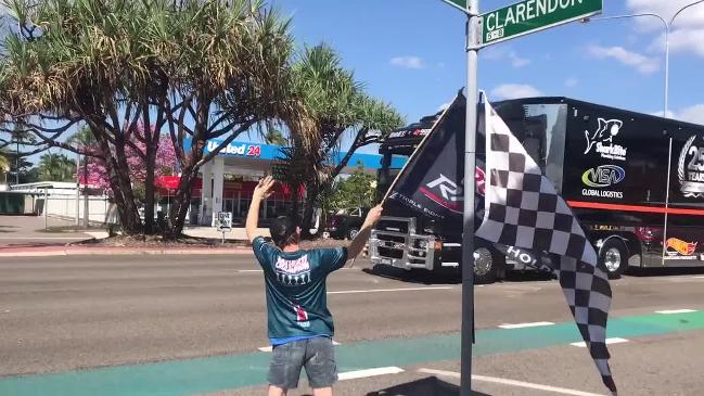 Townsville 400 Supercars Transporter Parade 2018