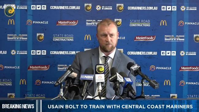 Usain Bolt needs to impress the coach: Central Coast Mariners CEO