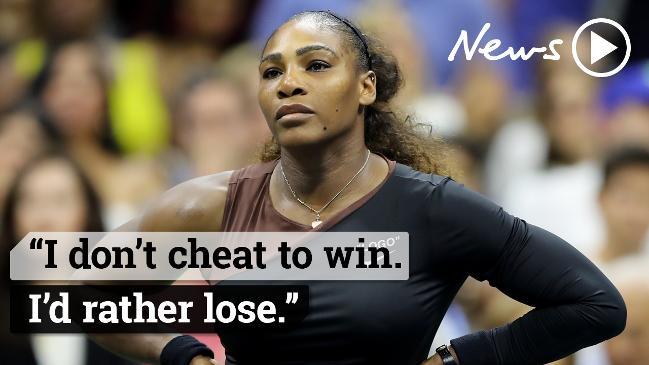 US Open Women's finals: Serena Williams loses it